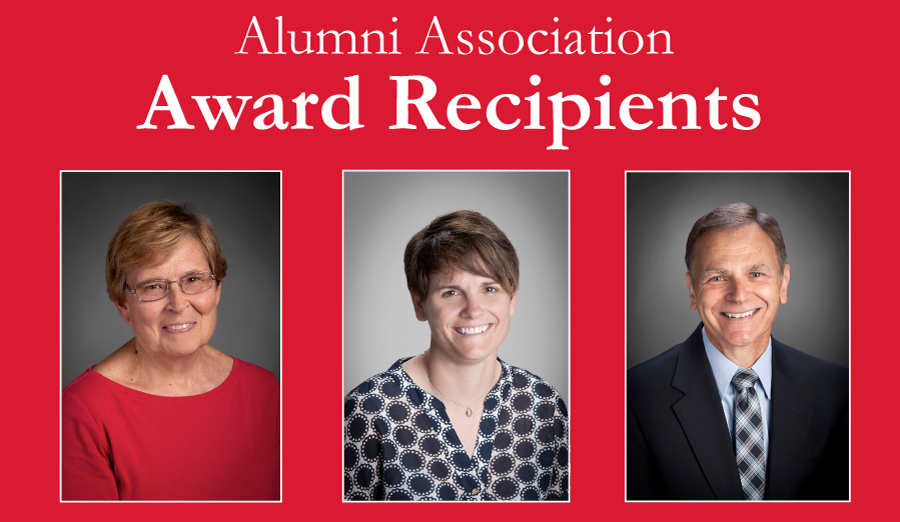 Alumni Association Award Recipients