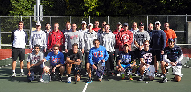 Men's Tennis Reunion